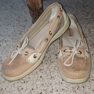 Ladie's Leather Sperry Top Sider's